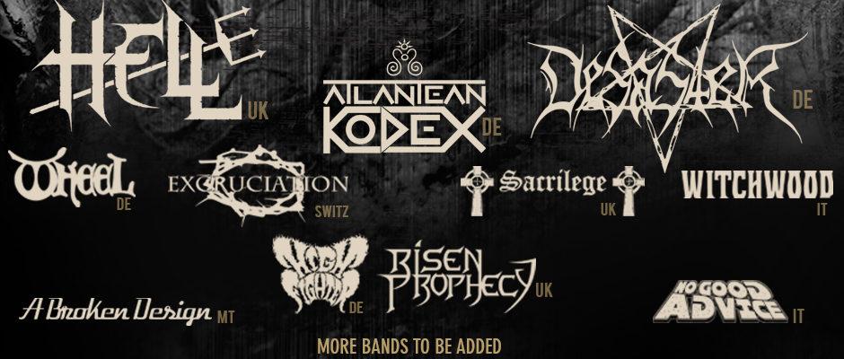 First Bands Announcement
